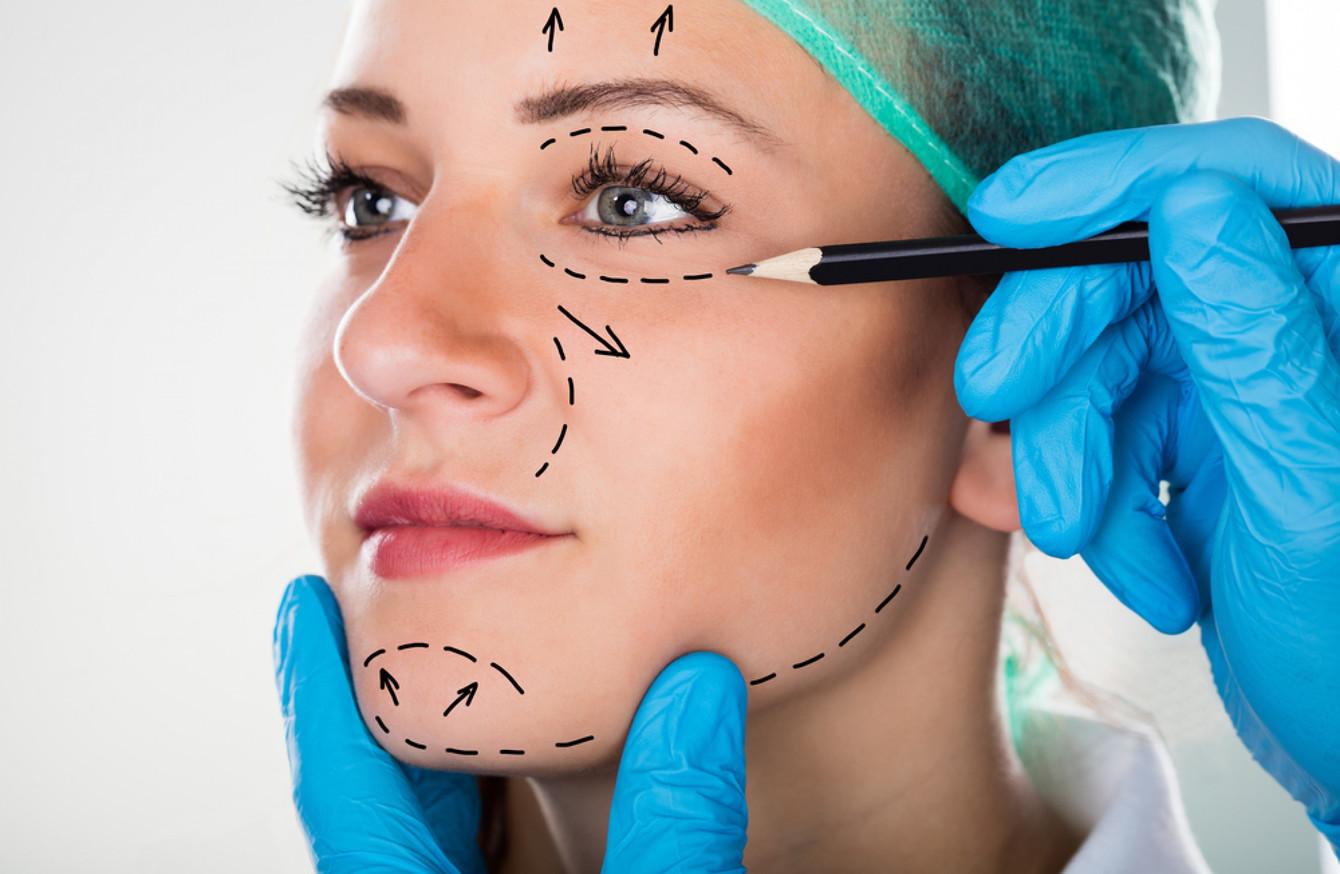 estetisk plastkirurgi i ansiktet