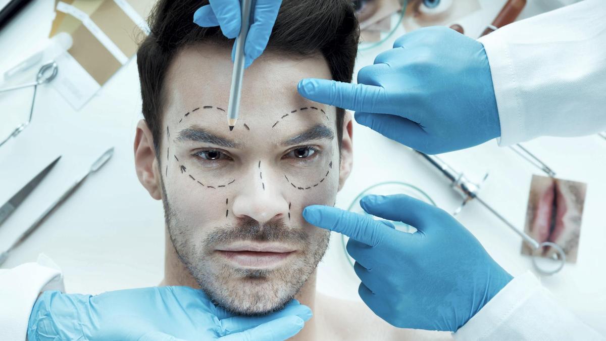 estetisk plastkirurgi på menn