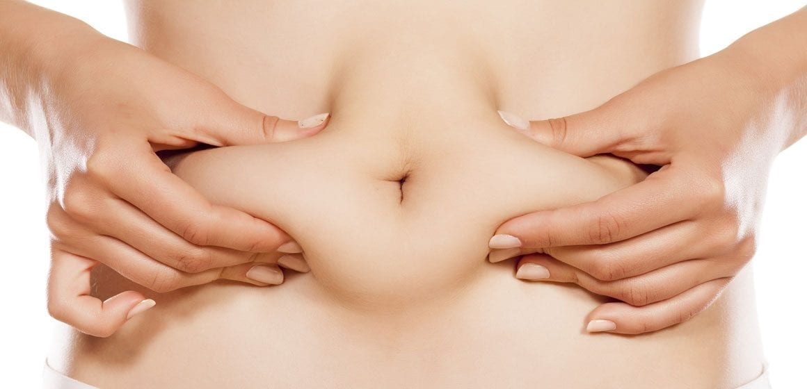 liposuksjon med fettsuging